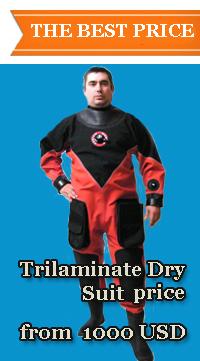 Триламинатный сухой костюм (English)